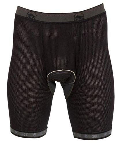 Zoic Men's Essential Liner Shorts, Black, 3X-Large