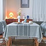 sans_marque Paño de mesa, mantel de fiesta, mantel de mesa, mantel de tela de mesa para interiores o exteriores fiesta cumpleaños, boda Navidad140*260cm