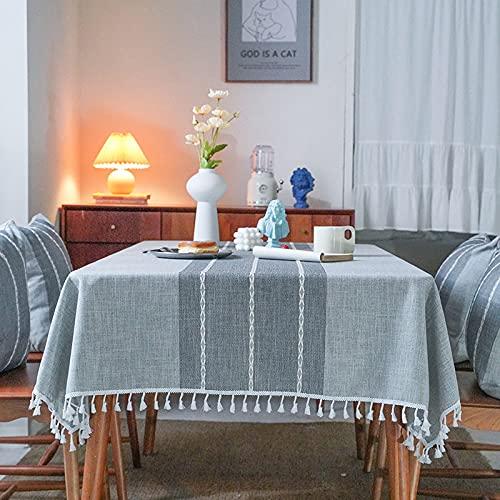 sans_marque Mantel de mesa, cubierta de mantel lavable, utilizado para comedor de cocina, decoración de mesa de cocina 140* 180cm