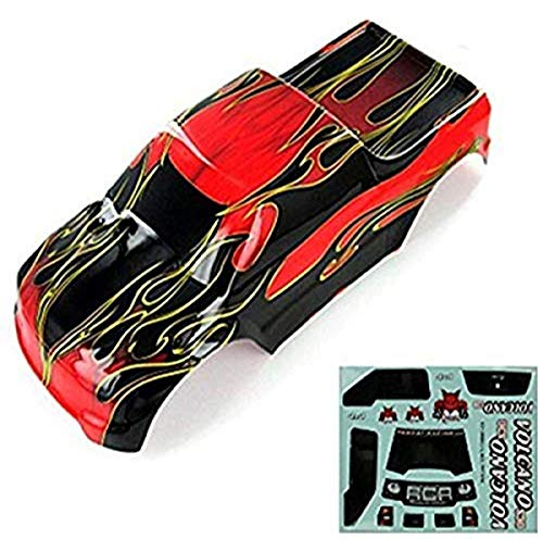 Redcat Racing Truck Body (1/10 Scale), Flamme Rouge