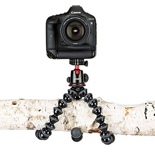 JOBY JB01508-BWW GorillaPod 5K Kit flexibles Profi-Stativ (mit Kugelkopf für DSLR-, CSC- und spiegellose Kameras, Traglast bis zu 5kg)