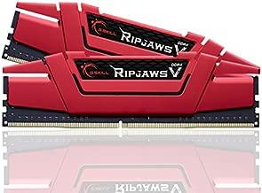 G.SKILL Ripjaws V Series 16GB (2 x 8GB) 288-Pin DDR4 SDRAM DDR4 3000 (PC4 24000) Intel Z170 Platform / Intel X99 Platform Desktop Memory Model (F4-3000C15D-16GVRB)