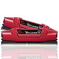 G.SKILL Ripjaws V Series 16GB (2 x 8GB) 288-Pin DDR4 SDRAM DDR4 3000 (PC4 24000) Intel Z170 Platform / Intel X99…