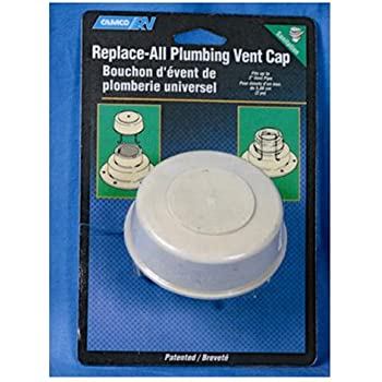 Amazon Com Camco Replace All Plumbing Vent Cap With Spring Attachment Replaces Lost Or Damaged Rv Plumbing Vent Caps Fits Up To 2 Plumbing Vent Pipe White 40034 Automotive