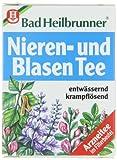 Bad Heilbrunner Nieren und Blasen Tea / kidney and bladder tea(4 Packs each 8 Teabags) - fresh from Germany