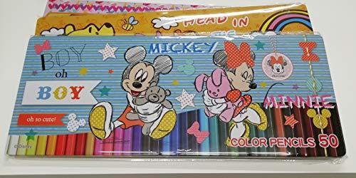 ディズニー トイストーリー 色鉛筆 50色 Disney TOYSTORY