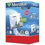 Menalux MegaPack - Bolsas para aspiradoras Miele, S4, S6, electronic 3800 (12...