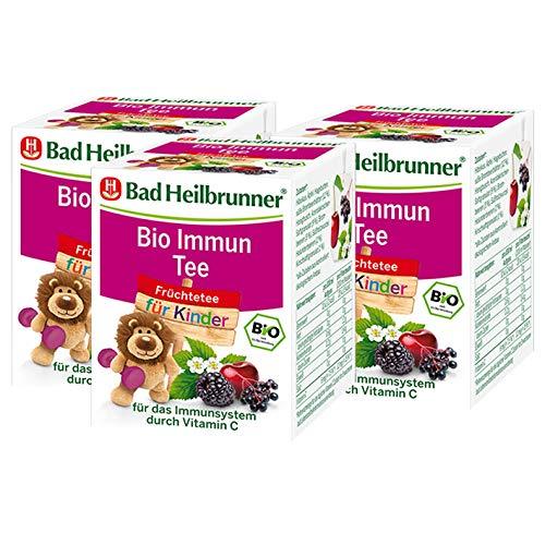 Bad Heilbrunner® Bio Immun Tee für Kinder, 3er Pack
