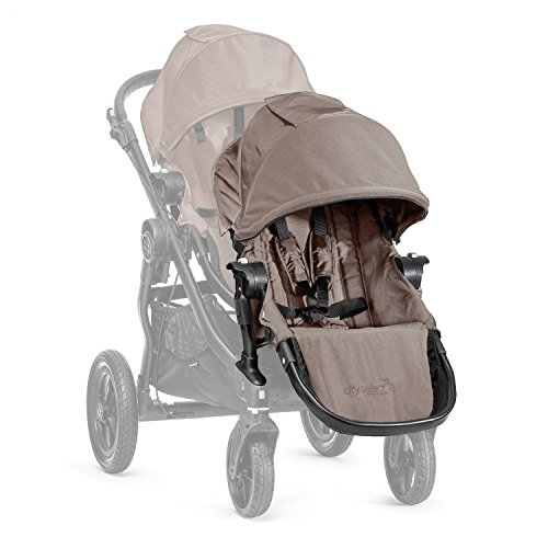 Baby Jogger City Select - Segundo asiento + acoples, color arena