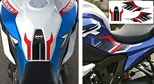 Motorrad Tankschutz 3D Aufkleber Kit kompatibel mit BMW S1000XR Sport ab 2020