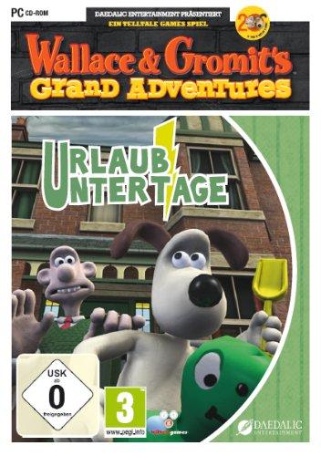 Wallace und Gromit - Urlaub unter Tage [Importación alemana]