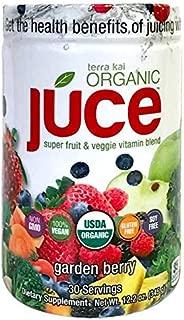 Terra Kai Expect More Organic Juce Super Fruit & Veggie Vitamin Blend, Value Pack (2 x 12.2 Oz Each)