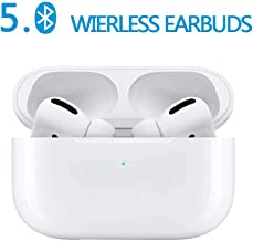 Bluetooth 5.0 True Wireless Earbuds in Ear Bluetooth Headphones with 3D Stereo IPX5 Waterproof Pop-ups Auto Pairing Fast Charging for Earphone Apple Airpods Pro/Airpods/Airpod/Samsung