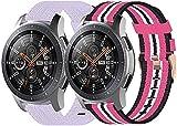 Correas para Relojes Nylon Compatible con Garmin Vivoactive 4S (40MM) / vivomove 3S (39MM), Correa de Reloj de NATO para Mujer y...