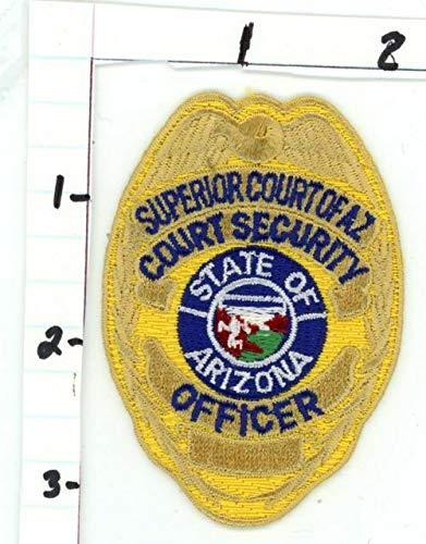 Superior Court Security Officer Arizona AZ New Colorful Patch Sheriff Police