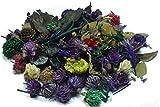 MERCAVIP Thermovip. Popurrí perfumado de Flores secas Color Morado. Formato Súper Ahorro de 400gr.