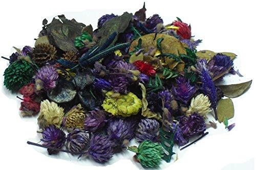 MERCAVIP Thermovip. Duftende Potpourri aus getrockneten Blumen Lila. Super Economy Format Beutel von 400 gr.
