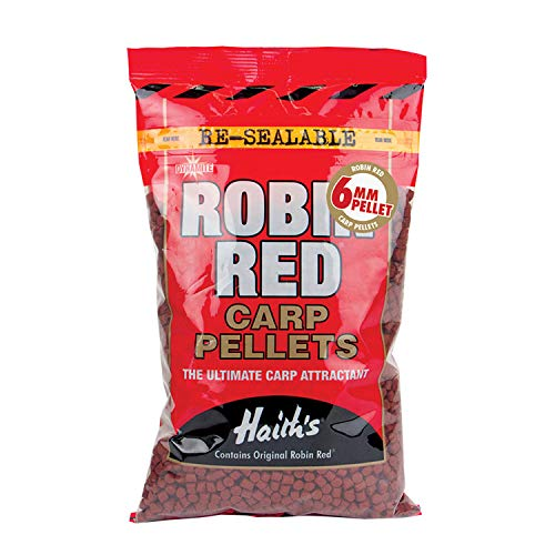 Dynamite Baits Robin Red Carp Pellets 6mm900g