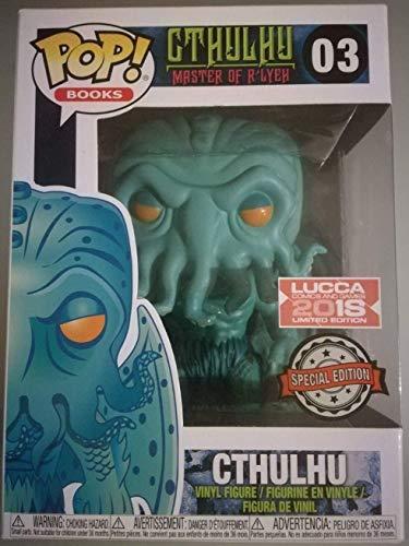 Funko Pop Cthulhu 03 Master of R'LYEH 9 cm Figura Exclusiva Lucca Comics Games