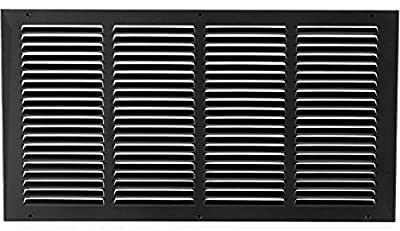 """20""""w X 10""""h Steel Return Air Grilles - Sidewall and Ceiling - HVAC Duct Cover - [Outer Dimensions: 21.75""""w X 11.75""""h]"""