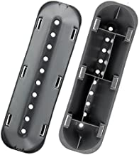 Spares2go 10 Hole Drum Paddle Lifter Arms For Indesit Washing Machines 183 mm x 53 mm x 38 mm, Pack Of 2