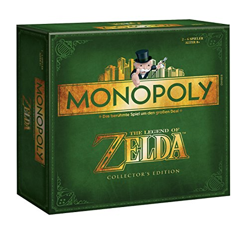 Winning Moves 44093 - Monopoly: Zelda Collector's Edition (deutsch)