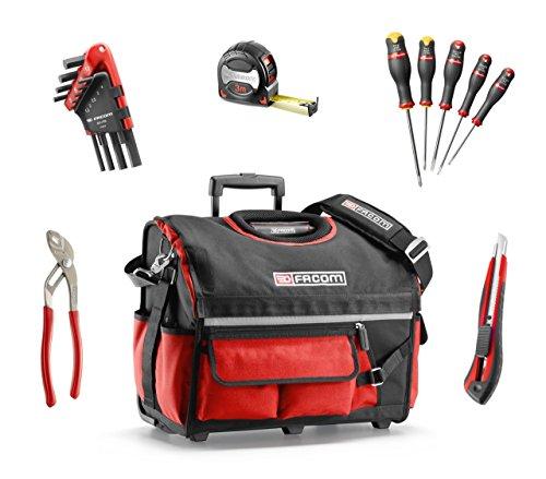 Facom BS.R20CMWB textielbox met 23 gereedschappen, zwart