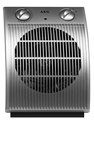 AEG 189972 HS 204 - Calefactor (2000 W, 230 V), color plateado y gris