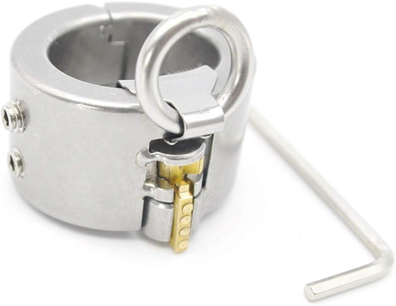 SLH Metal Stainless Steel Scredum Testicular Ring Pendant Restraint Alternative Sēx Toys Oppression
