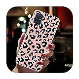 Phone cover Capa-H11-pour Samsung Galaxy A51 A71 A01 A11 A21 A21S A31 A41 A91 A7 A9 Motif léopard