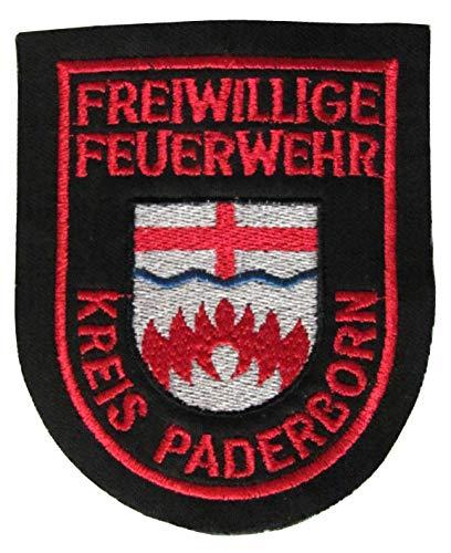 Freiwillige Feuerwehr - Kreis Paderborn - Ärmelabzeichen - Abzeichen - Aufnäher - Patch - Motiv 1