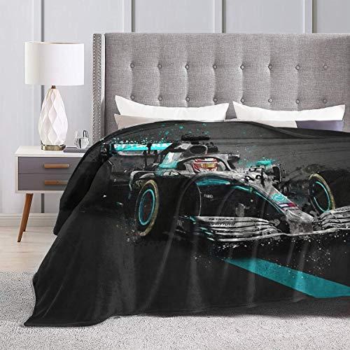 Fomente Lewis Hamilton Ultraweiches Micro-Fleece Decke 60
