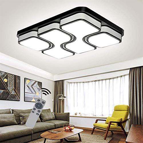 Ventilador de Techo con Luz Lámpara LED Led20w / 80W luces de techo de la personalidad con estilo simple de la lámpara del accesorio ligero del mando a distancia regulable Infinity colgante Handelier