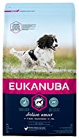 Tailored adult dog food with fresh chicken for medium breed dogs in a resealable bag Improved formula for the healthy digestion and optimal body condition of your dog A distinct hexagon kibble shape which improves palatability Contains DentaDefense t...