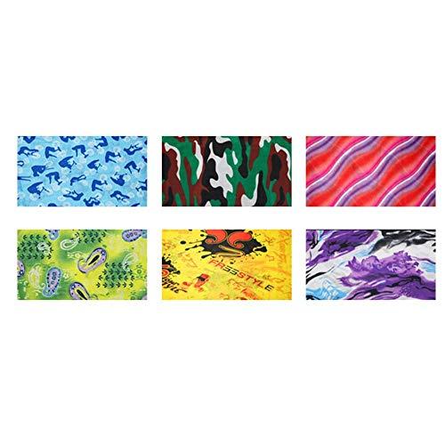 Chivalrylist Fietsen naadloze gezichtssjaal anti-deeltjes ademende hoofddeksel sneldrogende sjaal voor mannen vrouwen outdoor sport