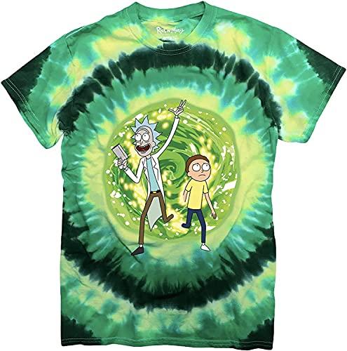 WFQTT Rick and Morty T-shirt pour homme Adventure L a1