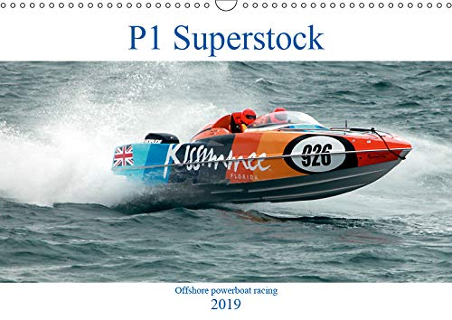 P1 Superstock 2019: P1 Superstock powerboats in action. (Calvendo Sports)