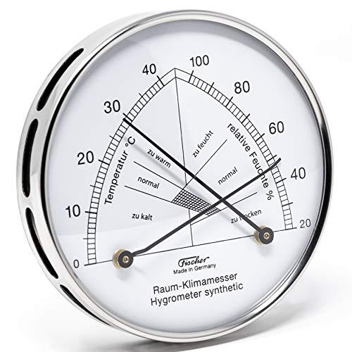Fischer 142.01EST Raum-Klimamesser Thermohygrometer, Manufaktur aus Deutschland