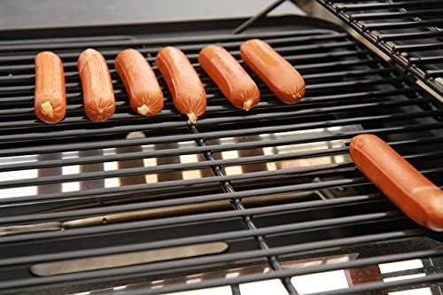 CCLIFE Barbecue à Gaz (2+1 brûleurs) Barbecue en Acier de Couleur Noir