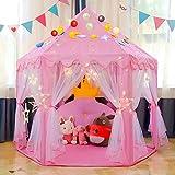 Triclicks Prinzessin Castle Kinder Spielzelt - Indoor / Outdoor Kinder Spielhaus - Prinzessin...