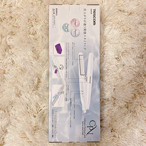 テスコムコラーゲンイオンヘアーアイロンプラチナホワイトTCH5100-W