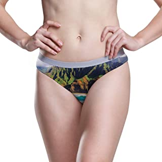 GKANGJIAL Women Low Waist Hipster Parkour Panty Cotton Stretch