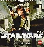 Star Wars Postkartenkalender. Postkartenkalender 2020. Monatskalendarium. Spiralbindung. Format 16 x 17 cm - Heye