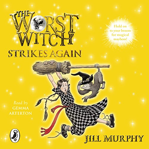 The Worst Witch Strikes Again audiobook cover art
