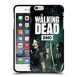 Head Case Designs Licenciado Oficialmente AMC The Walking Dead Daryl, Carol y Michonne Temporada 9 Quotes Funda de Gel Negro Compatible con Apple iPhone 6 Plus/iPhone 6s Plus