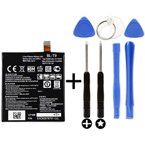 Bateria BL-T9 para LG Nexus 5 + Kit Herramientas/Tools | 2300mAh | D820/D821