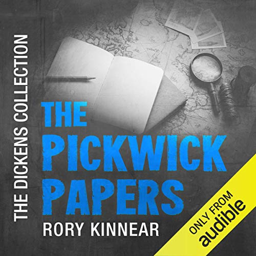 The Pickwick Papers audiobook cover art