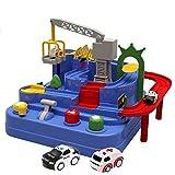 Giocattolo Per Auto Per Bambini,Avventura Per Auto Piccolo Treno Parcheggio Per Vagoni Ferroviari Vibrato Toy Boy Educazione Precoce Puzzle Bambino Gioco D'avventura Giocattoli Educativi
