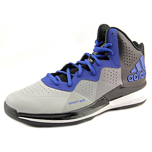 adidas New Men's Intimidate Basketball Shoes Onix/Collegiate Royal 10.5