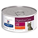 HILL'S PRESCRIPTION DIET i/d Digestive Care with Chicken Canned Cat Food, 5.5...